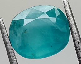 3.35Ct World Rare Grandidierite High Quality Gems for Collection IGCRGD12