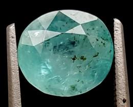 2.45Ct World Rare Grandidierite High Quality Gems for Collection IGCRGD16