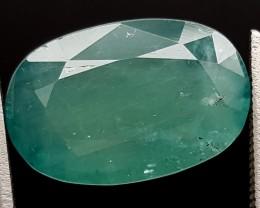 5.95Ct World Rare Grandidierite High Quality Gems for Collection IGCRGD31