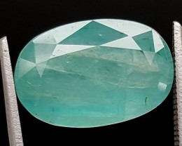 6.1Ct World Rare Grandidierite High Quality Gems for Collection IGCRGD32