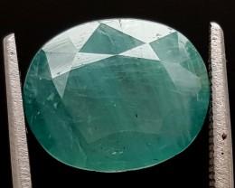 4.45Ct World Rare Grandidierite High Quality Gems for Collection IGCRGD36