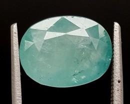 4.5Ct World Rare Grandidierite High Quality Gems for Collection IGCRGD39