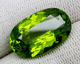 14.75 CT PERIDOT OLIVE GREEN PAKISTAN HIGH GEMS