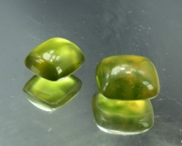 19.10 cts Untreated Solar Idocrase Cabochon Pair from Afghanistan