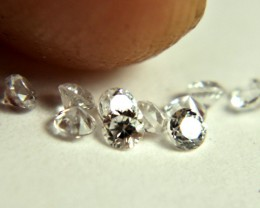 0.51 Tcw. White VVS Zircon Accents - Gorgeous