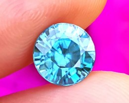 SALE!  3.21 ct Cambodian Blue Zircon