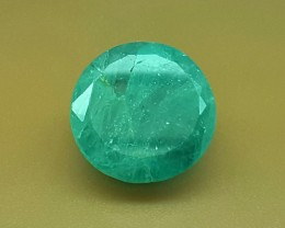 13.35 Crt Natural Rare Grandidierite Faceted Gemstone (R 105)