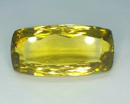 19.90 Crt Natural Lemon Quartz Faceted Gemstone (R 105)