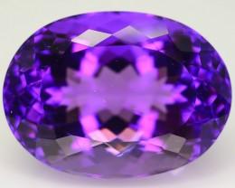 Royal Purple 18.29 ct Untreated Amethyst SKU.3