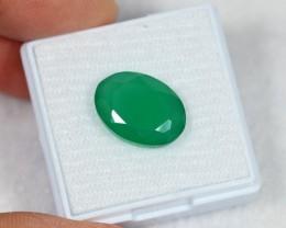 Lot 13 ~ 6.18Ct Natural Emerald Green Color Onyx