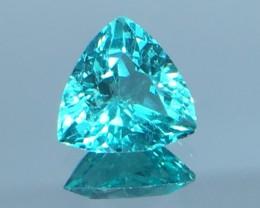 1.22 Ct Neon Blue Apatite ~ Insanity ~ Brazilian ~ Untreated