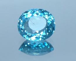 1.93 Ct Neon Blue Apatite ~ Insanity ~ Brazilian ~ Untreated 4