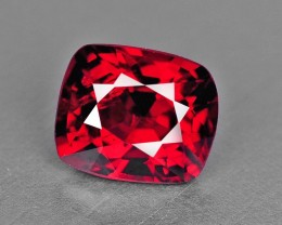 0.81 Cts Hot Red Natural Burmese Spinel