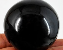 Genuine 1330.00 Cts Black Spinel Healing Ball