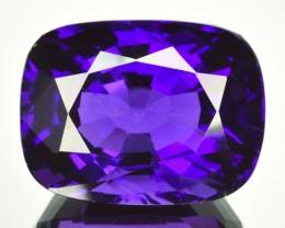 Beautiful Cushion Cut 33.91 Cts Natural AAA Purple Amethyst Uruguay Gem