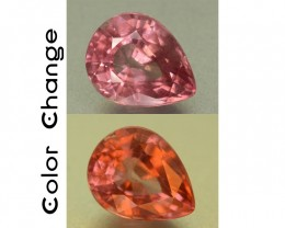 2.45 ct Natural Color Change Malaya Garnet SKU.1