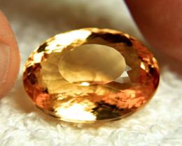 27.8 Brazilian Golden VVS Citrine - Gorgeous