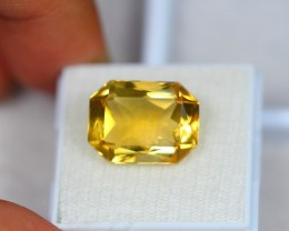 Black Friday 8.91Ct Natural Yellow Citrine Octagon Cut Lot LZB02