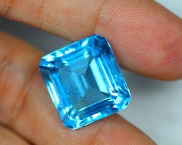 Black Friday 35.84ct Swiss Blue Topaz VVS Lot LZB246