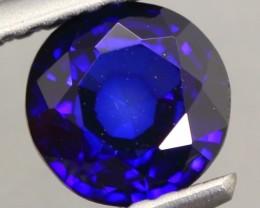 1.13ct Natural Royal Blue Sapphire Round Cut Lot