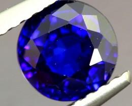 1.18ct Natural Royal Blue Sapphire Round Cut Lot