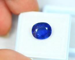 5.65Ct Blue Sapphire Oval Cut Lot LZB259