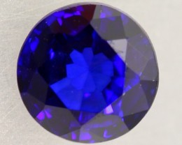 1.01ct Natural Royal Blue Sapphire Round Cut Lot