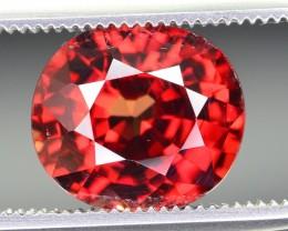 4.40~ct natural zircon gemstone