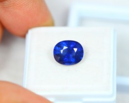 4.19Ct Blue Sapphire Oval Cut Lot LZB260