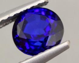 1.25ct Natural Royal Blue Sapphire Round Cut Lot