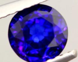 1.22ct Natural Royal Blue Sapphire Round Cut Lot