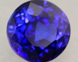1.02ct Natural Royal Blue Sapphire Round Cut Lot
