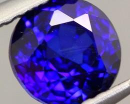 1.17ct Natural Royal Blue Sapphire Round Cut Lot