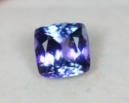 Black Friday 2.88Ct Greenish Violet Blue Tanzanite Cushion Cut Lot LZB241