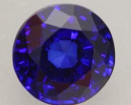 1.15ct Natural Royal Blue Sapphire Round Cut Lot