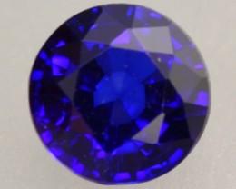 1.12ct Natural Royal Blue Sapphire Round Cut Lot
