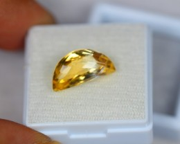 4.64Ct Yellow Citrine Fancy Cut Lot LZB23