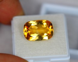 7.68Ct Yellow Citrine Fancy Octagon Cut Lot LZB22
