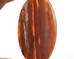 Genuine 150.00 Cts Untreated Agate Oval Shape Cab