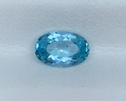 1.28 CT NEON APATITE HIGH QUALITY GEMSTONE S90