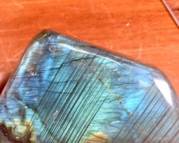 half kilo Natural double sided polished labradorite specimen PPP 1656
