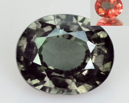 1.08 Cts Natural Color Change Garnet Oval Tanzania