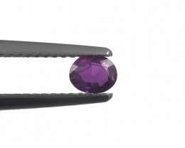 0.35 CTS | Natural Purple Sapphire | Loose Gemstone | Sri Lanka - New