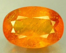 Certified 2.87 ct Rare Natural Top Color Clinohumite
