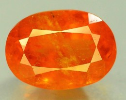 Certified 3.01 ct Rare Natural Top Color Clinohumite