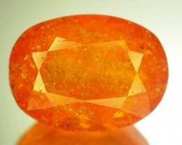 Certified 3.44 ct Rare Natural Top Color Clinohumite