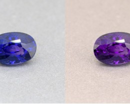 Ceylon Unheated Colour Colour Changing Blue Sapphire 1.10 Ct. (00720)