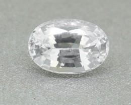 Natural Ceylon White Sapphire 1.38 Ct. (00711)