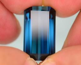 21.13 ct Natural Rich Blue Color Tourmaline