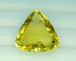 8.0 Crt Natural Lemon Quartz Faceted Gemstone (R 107)